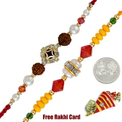 Fancy Rakhi Set of 2