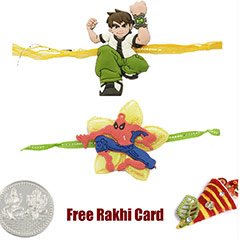 Kids Rakhi Set of 2