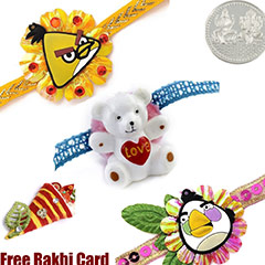 Kids Rakhi Set of 3