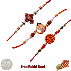 Mauli Rakhi Set of 3