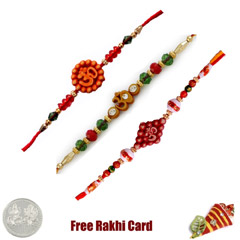 Om Rakhi Set of 3