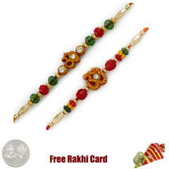 Om Rakhi Set of 2