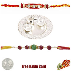 Silver Thali with Free Silver ..